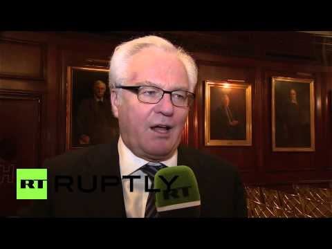 USA: 'Ukraine's EU/UN peacekeeping idea is disturbing' - Churkin