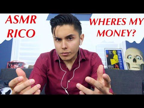 [ASMR] Rico Wants His Money! (Pasta Eating & More!)