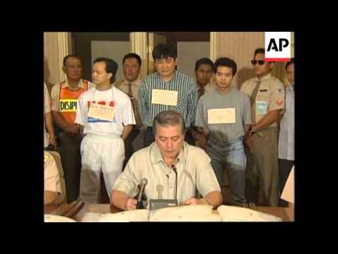 PHILIPPINES: MANILA: POLICE SEIZE MASSIVE DRUGS HAUL