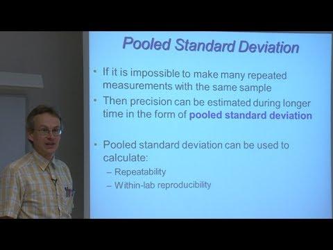 6.2 Pooled standard deviation - YouTube