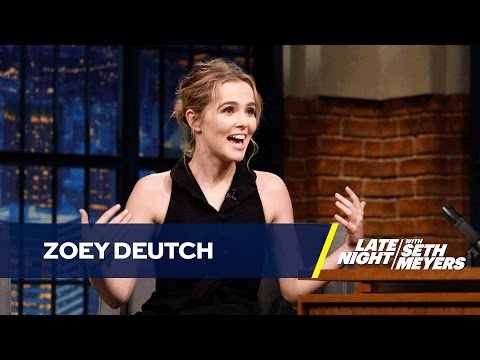Zoey Deutch's Weird Relationship with Ryan Seacrest clip