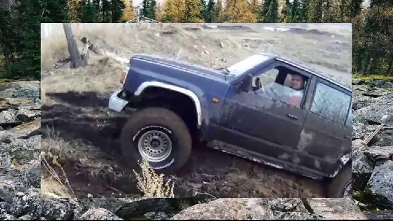 #399. Nissan Patrol против Нивы на горе