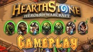 Warlock Low Mana Rush (Hearthstone Gameplay)
