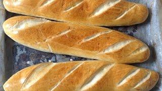 طريقة تحضير باكيت بالحليب رااائع // Baguettes au Lait // Milk baguettes