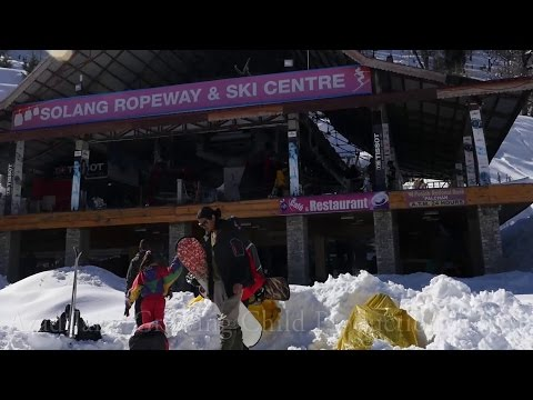 Solang Ropeway & Ski Centre at Solang Valley, Manali, Himachal Pradesh, India