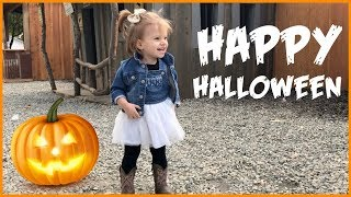 HAPPY HALLOWEEN! Pumpkin Patch Vlog