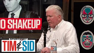 Brian Burke Has Two Big Issues With Maple Leafs And Hurricanes Game | Tim and Sid