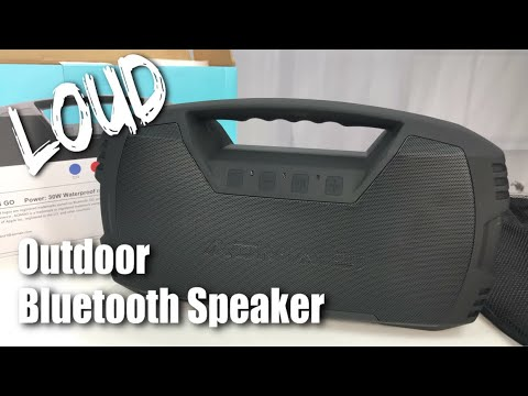 Super Loud Aomais Go 30W Outdoor Bluetooth Stereo Speaker with Bass Review
