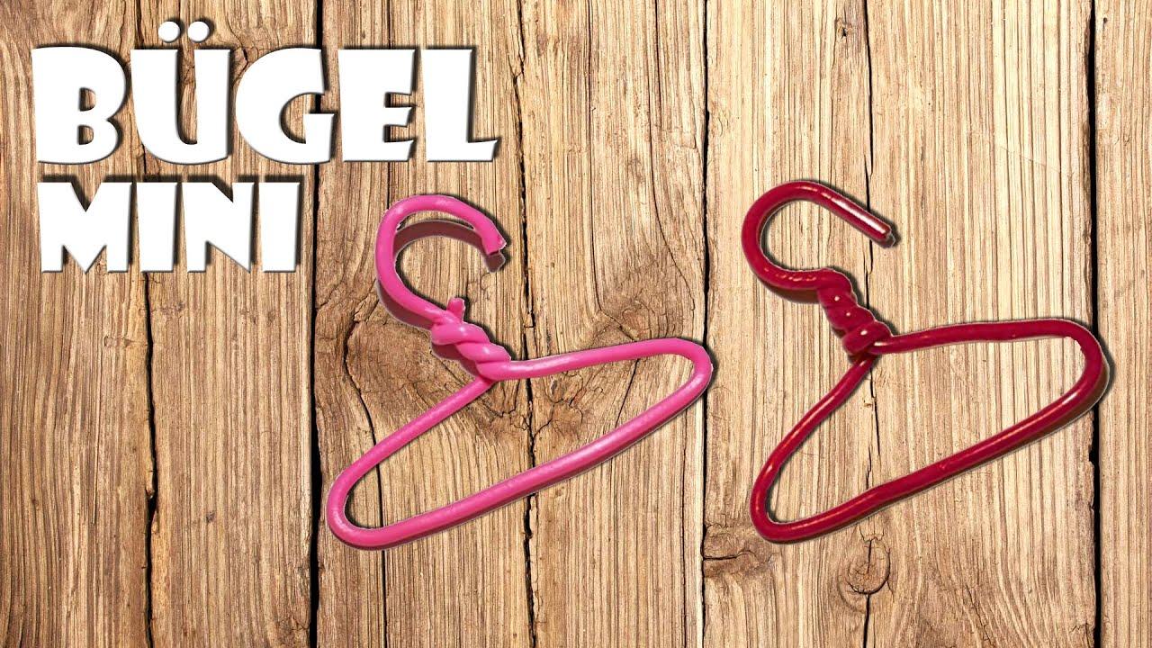 Basteln Mini Bugel Selber Machen Diy Mini Hanger Youtube