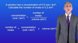 GCSE Chemistry (9-1) Using concentration of solutions 1