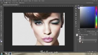 Видеоуроки Photoshop с нуля. Урок 3. Инструмент быстрое выделение (волшебная палочка)
