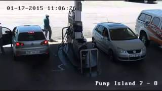 Petrol Station Robbery In South Africa