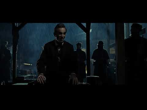 Lincoln (2012) Quoting Abraham Lincoln`s speech from Gettysborough | Opening scene (HD)