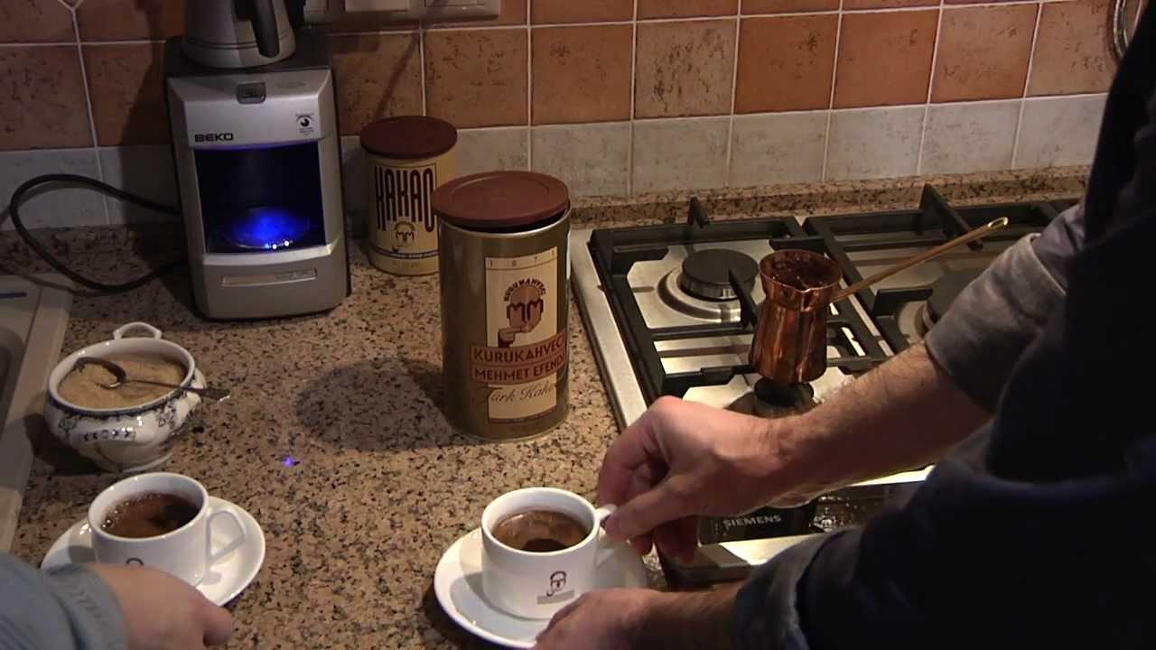 Как сделать вкусный кофе на турке 198
