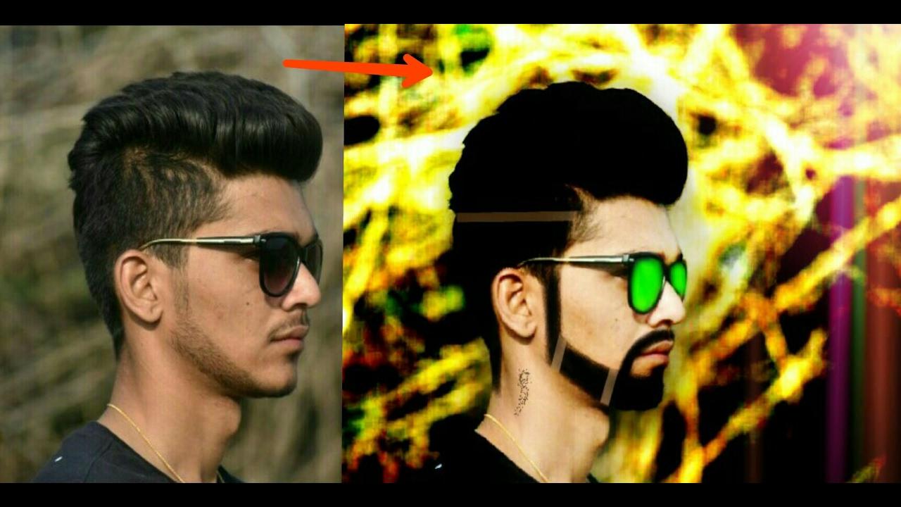 Professional Editing Tutorial Change Hair Style HDR Effect With - Hair style change photo effect