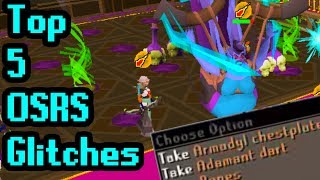 The Top 5 OSRS Glitches EVER