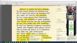 18 | Sinjoro Tadeo 2: 727-851 | Pan Tadeusz – 에스페란토 판 타데우시 2권 공부 (zoom)