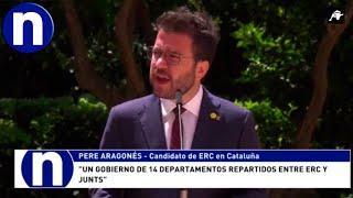 ERC y Junts llegan a un acuerdo bajo el objetivo de la independencia en Cataluña