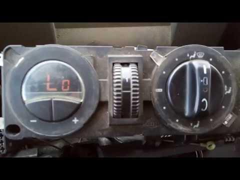 Mercedes vito w638 Устанавливаем климат однозонный.