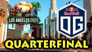 NEW OG HAVING MORE FUN in OPEN QUALIFIERS! OG vs UNHOLY - QUARTERFINALS ESL ONE LOS ANGELES DOTA 2