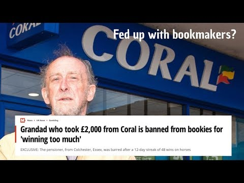 The reality of betting, being banned or restricted by a bookmaker? Here is a simple solution!