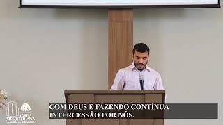 EBD - SERIE DE MENSAGENS - PERGUNTA 25: COMO EXERCE CRISTO AS FUNÇÕES DE SACERDOTE