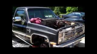 1984 Silverado C10 Update 5 PULLED OUT THE 305! Classic G-Body