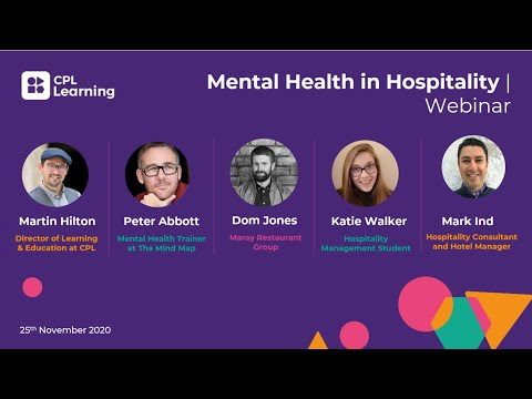 Mental Health in Hospitality – An In Depth Look at Supporting Your Teams with Our Industry Panel