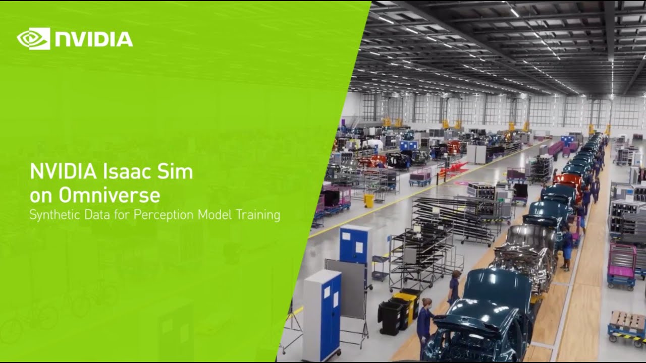 NVIDIA Isaac Sim On Omniverse – Synthetic Data for Perception Model Training