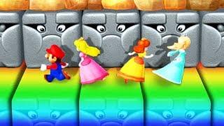 Mario Party 10 - Minigames - Mario vs Daisy vs Peach vs Rosalina