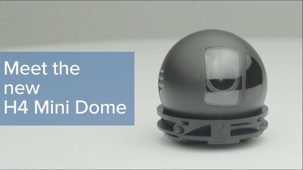 H4 Mini Dome Camera Line