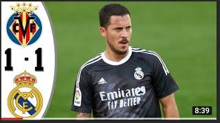 вильярреал  Реал Мадрид 1 ; 1 обзор матча 21 ; 10 ;2020