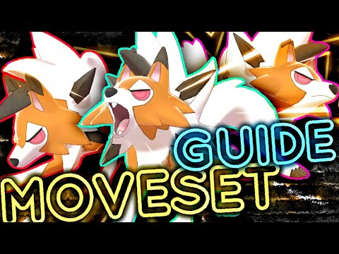 DUSK FORM LYCANROC MOVESET GUIDE! How to use Lycanroc! Pokemon Sword and Shield! ⚔️🛡️