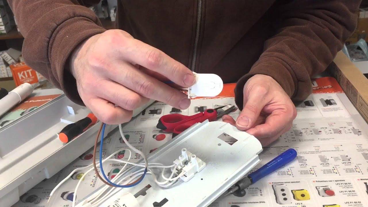 Schema Elettrico Per Tubi A Led : Come sostituire un vecchio neon con uno nuovo a led