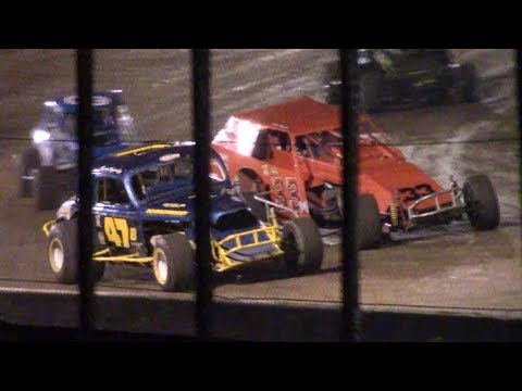 Vintage Modified Feature | Eriez Speedway | 9-22-18