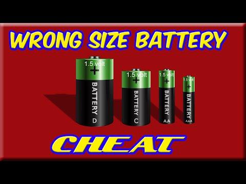 Wrong Size Battery Cheat Retrohax Life Hacks