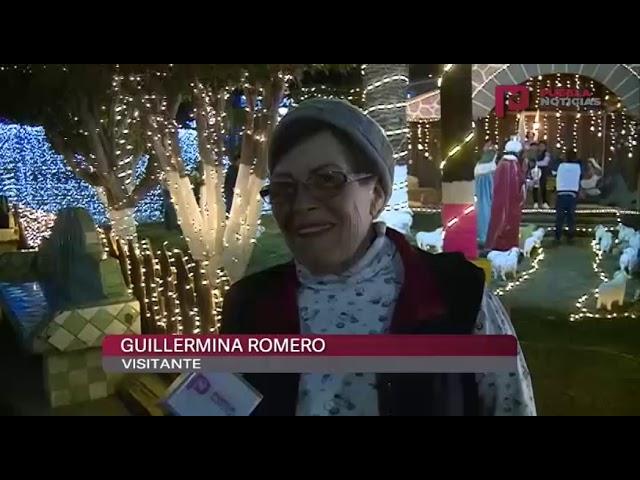 #PueblaNoticias Disfruta esta Villa Iluminada