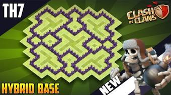 Clash Of Clan Town Hall 7 Tvaction Info