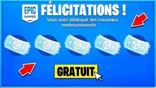 "[🎁VITE🎁] RE-SANE your ""FREE"" REFUNDING TICKETS on FORTNITE PC/PS4/XBOX/SWITCH"