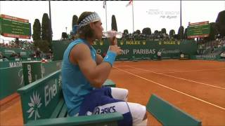 Rafael Nadal very sensitive about the bottles