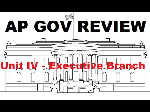 AP Gov Review: Cabinets and Executive Office - Unit 4 - Executive Branch - Part 4