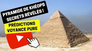 Voyance 223 | Quel est le secret de la construction de la Pyramide de Khéops ? | Bruno Voyant Médium