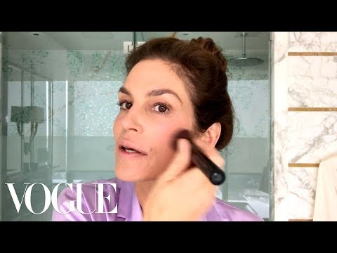 Cindy Crawford&39;s Everyday Morning Beauty Routine  Beauty Secrets  Vogue