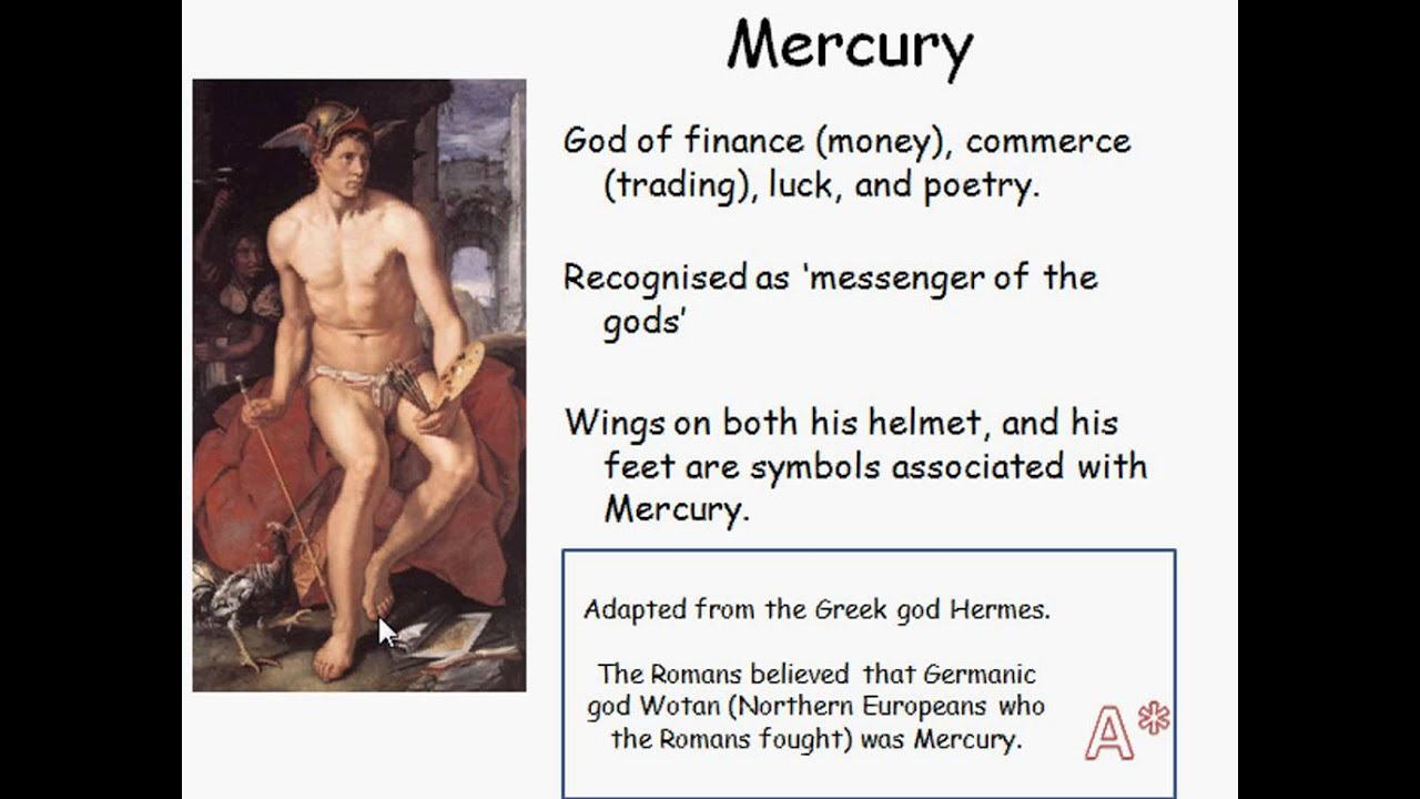 Mercury Roman Gods Youtube