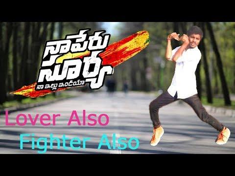 Lover also Fighter also | Naa Peru Surya...