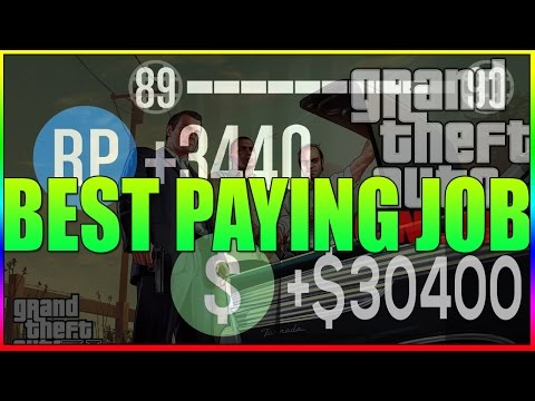 GTA 5 Online- Best Paying Jobs/Missions ($25,000 & 4000RP) How to Complete SOLO!