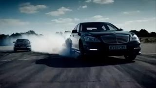 BMW 760Li vs Mercedes S63 AMG - Top Gear - BBC