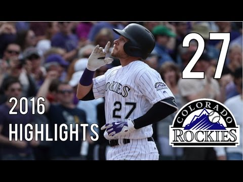 Trevor Story | 2016 Rookie Highlights