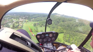 Video Robinson R44 Helicopter transition - day one for new student download MP3, 3GP, MP4, WEBM, AVI, FLV Desember 2017
