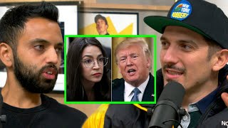 AOC Is Promoting The Greatest Threat To Democracy | Andrew Schulz and Akaash Singh